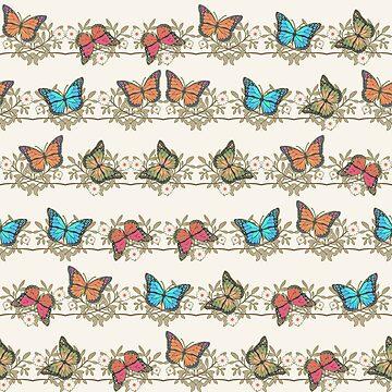 Assorted butterflies by gavila