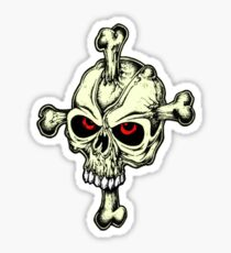 Skull & Cross Bones Sticker