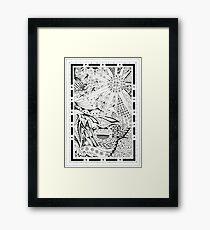 Pen & Ink 5 Framed Print