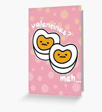 GUDETAMA VALENTINES CARD Greeting Card