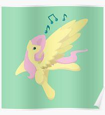 Sing Along Fluttershy Poster