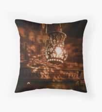 Lantern, Coptic Church, Egypt Throw Pillow