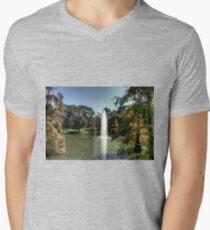 Camiseta de cuello en V Palacio de Cristal Lake