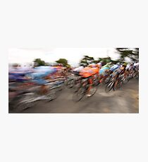 Past in a blur of colour Photographic Print