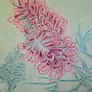 Pink Grevillea by lukekellyart