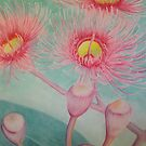 Pink Gum by lukekellyart