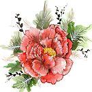 Oriental Flower by Siobhan Sands
