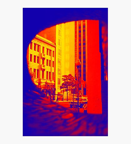 Surreal City Street Photographic Print