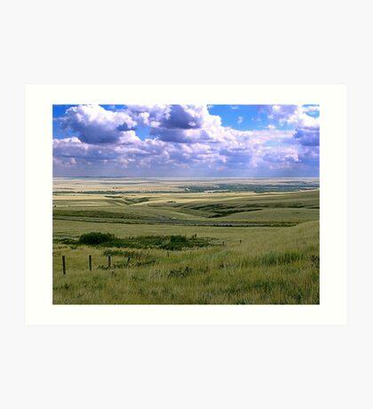 The Great Land Art Print