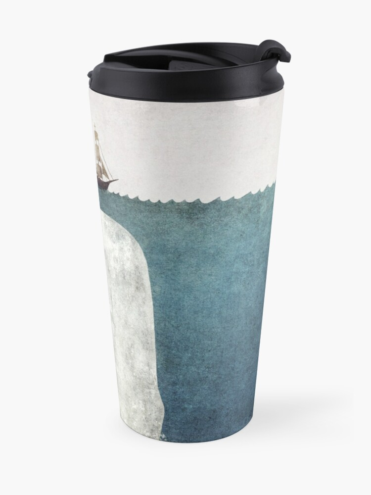 Alternate view of The Whale (Vintage) Travel Mug