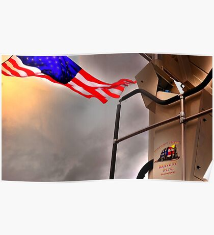 To Fallen Heros-Old Glory Poster