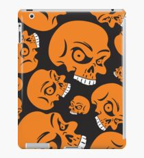 The Orange Skull - Halloween Skulls iPad Case/Skin