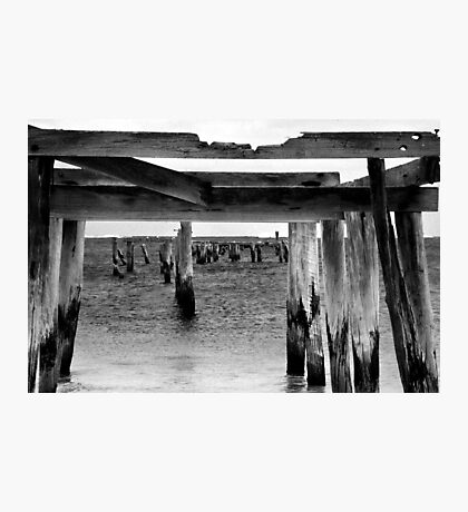 Old Jetty Photographic Print