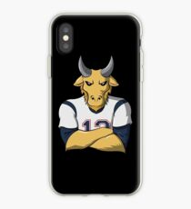 Limited Edition Tom Brady Mascot, GOAT TB-12 Shirts, Mugs & Hoodies iPhone Case