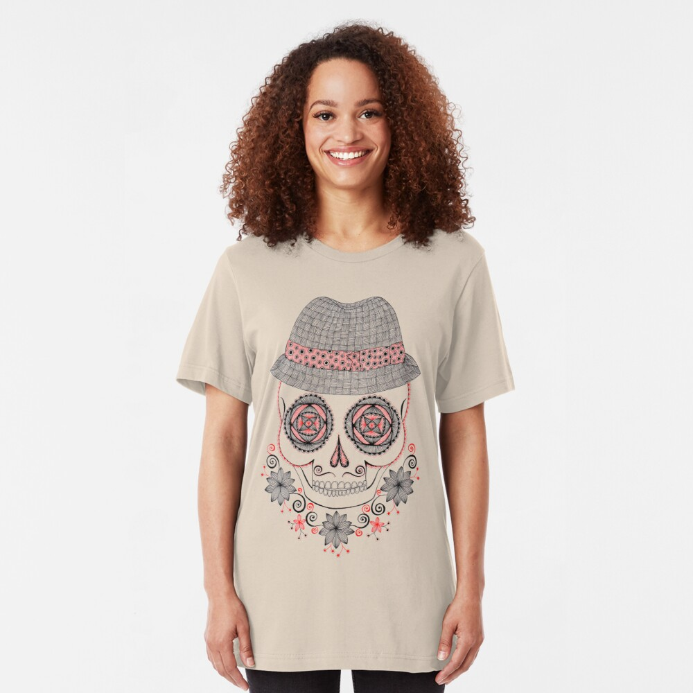 Dapper Skull Slim Fit T-Shirt
