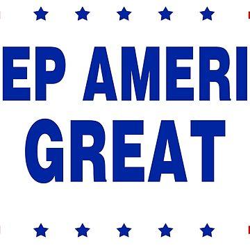 KAG-Keep America Great-blue bg by DeplorableLib