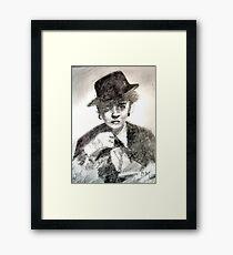 Bette Davis #2 - ACEO Framed Print