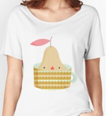 pear in a cup Women's Relaxed Fit T-Shirt