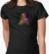 Overlap Women's Fitted T-Shirt