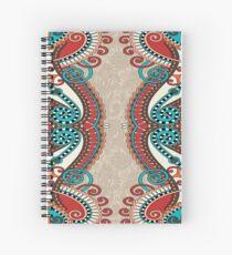 Curled Fringe Spiral Notebook