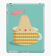 pear in a cup iPad Case/Skin