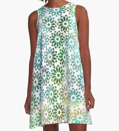 Lotus Light A-Line Dress
