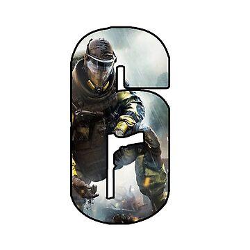 logo raibow six siege by alex27012001