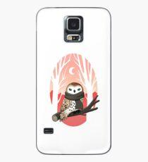 Winter Owl Case/Skin for Samsung Galaxy