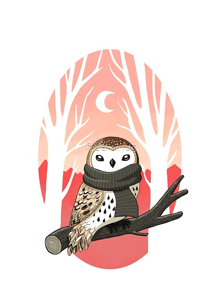 Winter Owl by freeminds