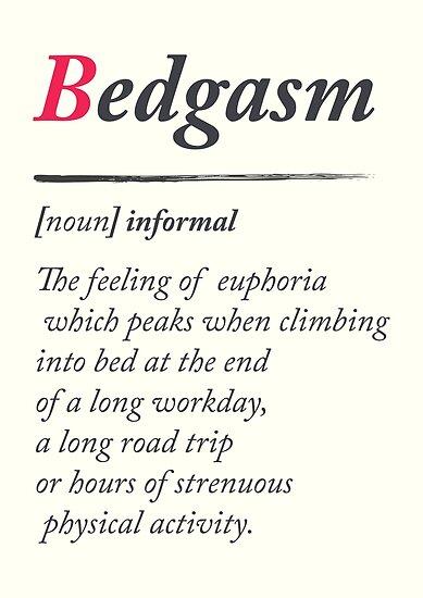 Definition of an orgasm