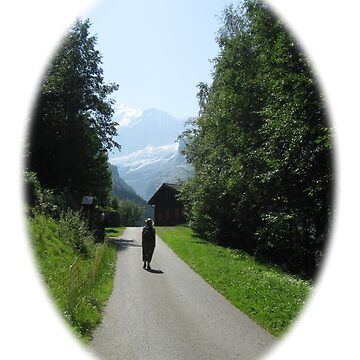 The Wonder of Wandering near Grindelwald, Switzerland by DAscroft