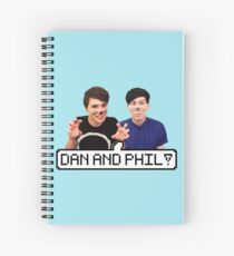 Dan and Phil! Spiral Notebook
