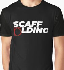 Scaffolders Tee Occupations Graphic T-Shirt