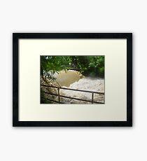 Floodwater (Enhanced) Framed Print