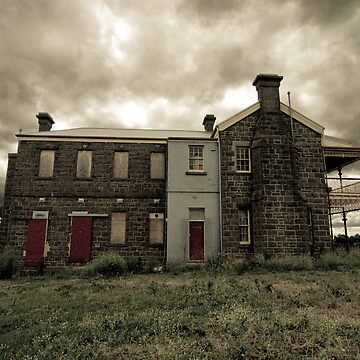 Abandoned Hospital by biomechanic