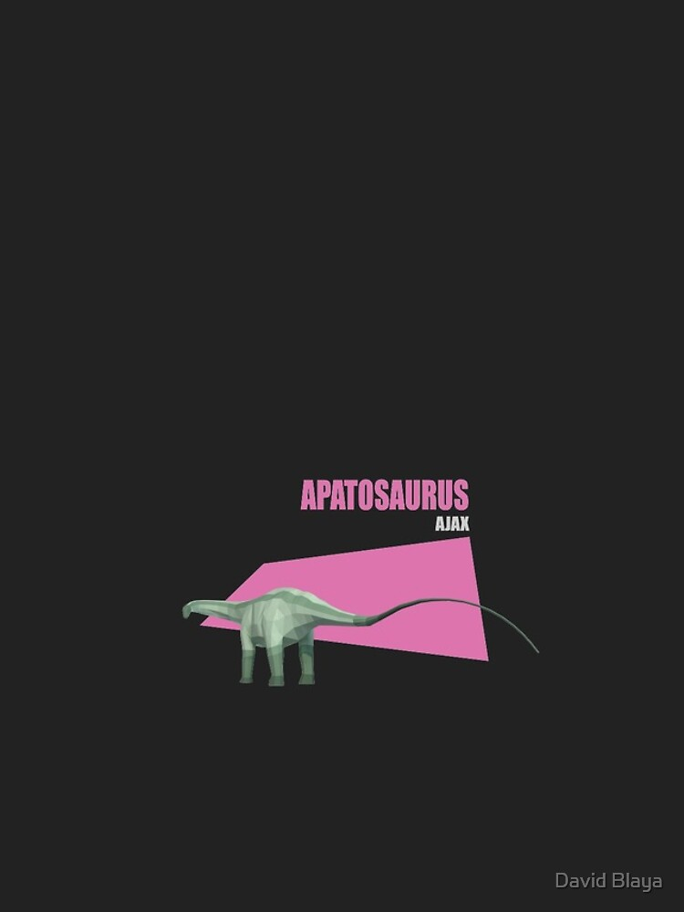 Low Poly Dinosaur - Apatosaurus de blayapapaya
