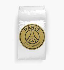 Paris Saint-Germain Football Club gold crest Duvet Cover