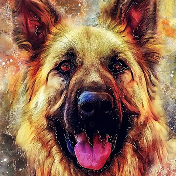 German Shepherd dog #Shepherd #dog #animals by JBJart