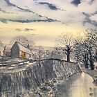 Hag Dyke by Moonlight by Glenn Marshall