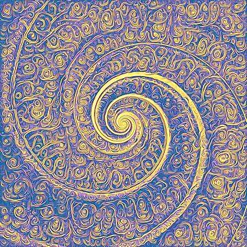 Abstract Fibonacci by blackhalt