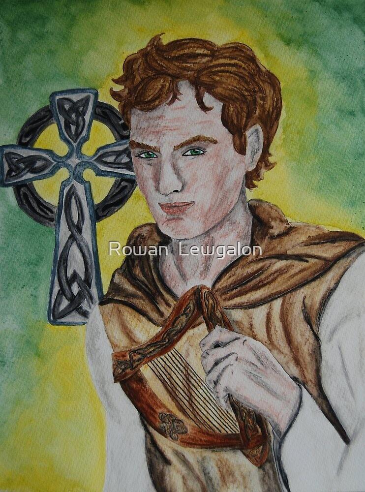 Saint Cædmon by Rowan  Lewgalon