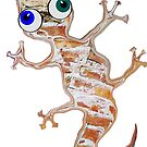 Brick Gecko by Juhan Rodrik