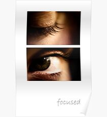 focused Poster