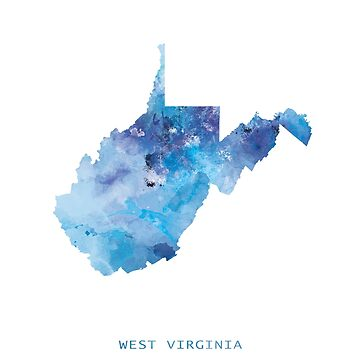 West Virginia by MonnPrint