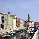 Colours of Burano by Steve plowman