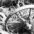 Plough axle in the snow by AbsintheFairy