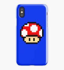 Red Mario Mushroom iPhone Case/Skin