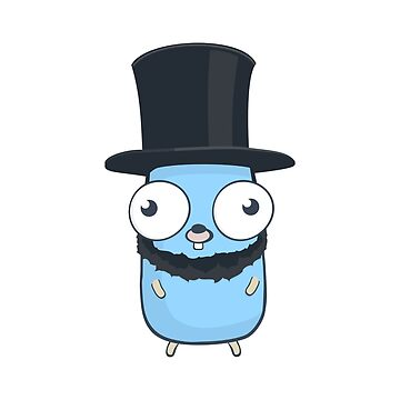 The Go Gopher: Jewish Stovepipe Hat by hellkni9ht