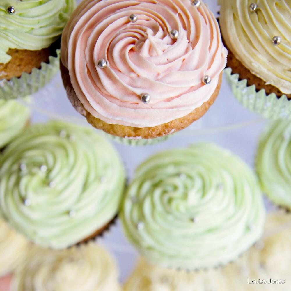 Cup Cakes by Louisa Jones