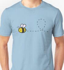 Cute Bee Top Unisex T-Shirt